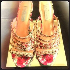 Betsy Johnson Rhinestone shoes